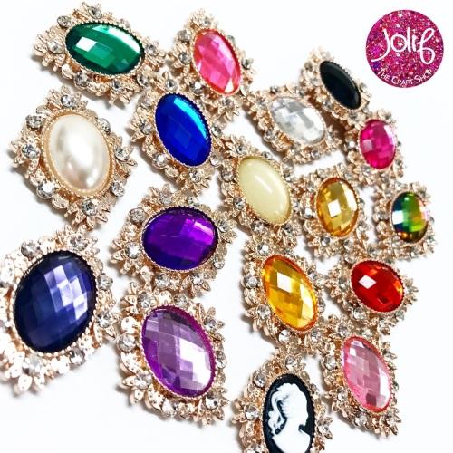 Gemstone Embellishments