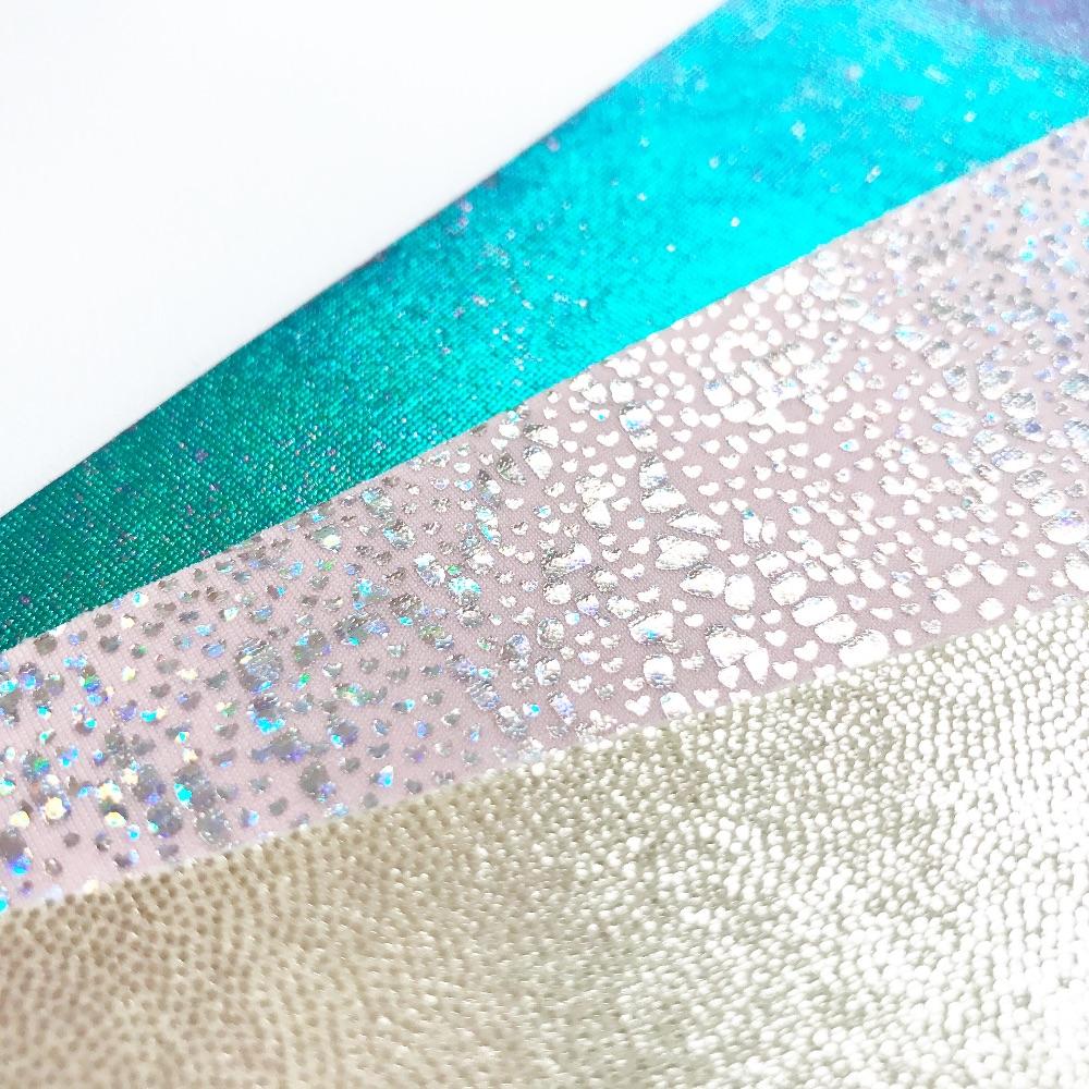 Holographic & Metallic Felt Fabric