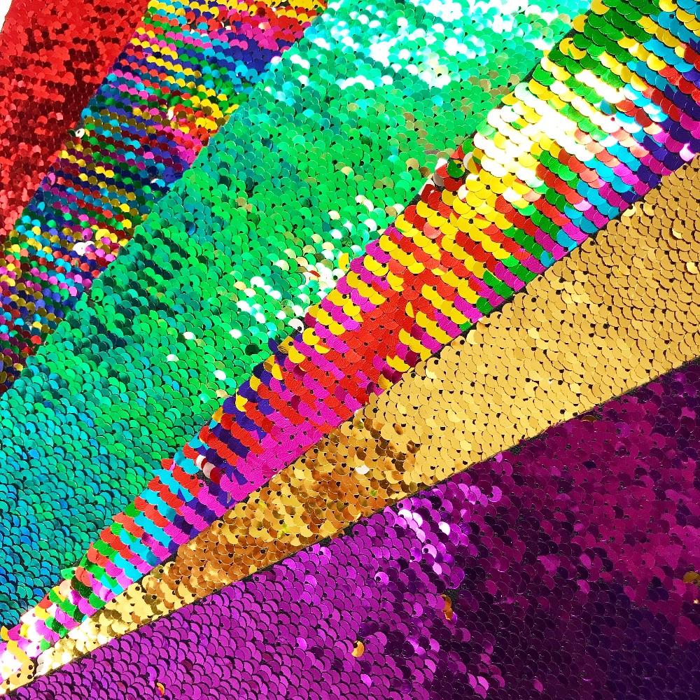 Sequin Felt Fabric