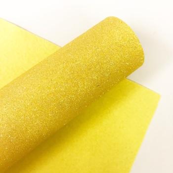 Lemon ~ Glitter Felt