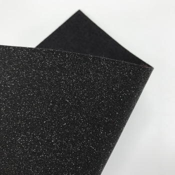 Black Glitter Felt