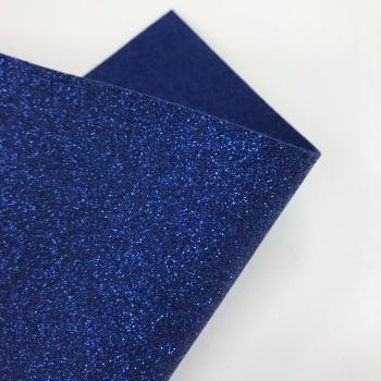 Royal Blue Glitter Felt