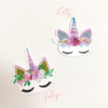 Sleepy Unicorns ~ Lilly and Tulip