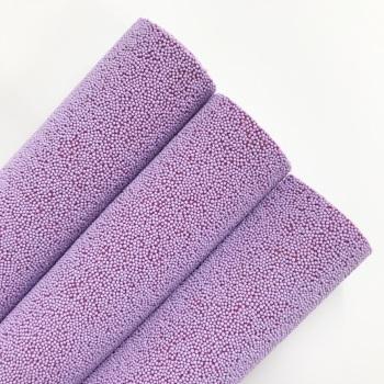 Lilac Glitter ~ Beaded Fabric