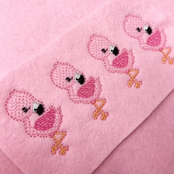 Florence Flamingo Felties