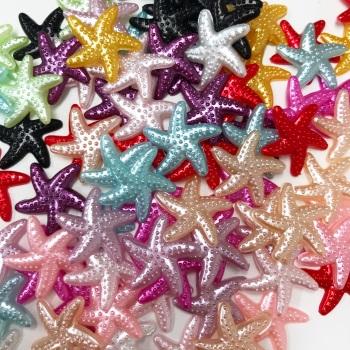 Starfish Embellishments - packs  of 5