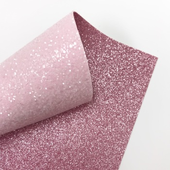 Powder Pink chunky glitter ~ Double Sided Glitter