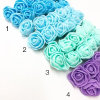 Mini Foam Flowers