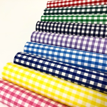 Gingham Felt Fabric