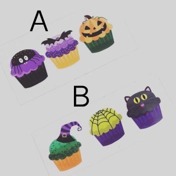 Halloween Cupcake ~ Iron on Images