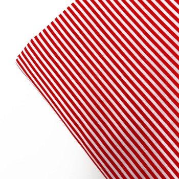 Red Candy Cane ~ Candy Stripe