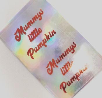 Mummy's Little Pumkin ~ Set of 2