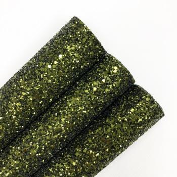 Khaki ~ Chunky Glitter