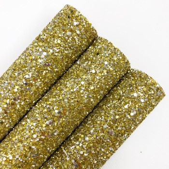 Tiffany Gold & Silver ~ Chunky Glitter