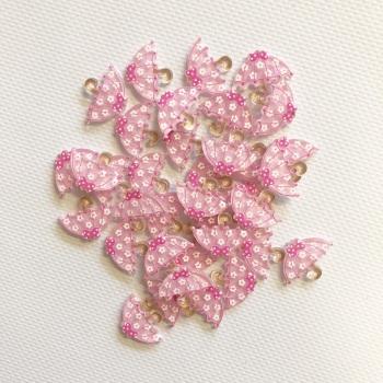 Pink Umberella ~ Embellishments