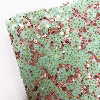 Mint & Rose Pink ~ Premium Sequins