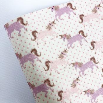 Unicorn Polka Dots ~ Fine Glitter