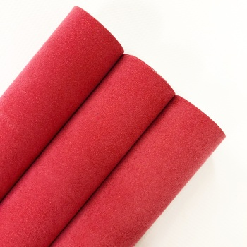 Ruby ~ Suede Effect Leatherette