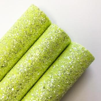 Lime Twist Chunky Glitter