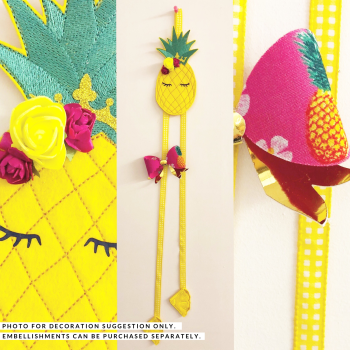 Create Your Own Pineapple Bow Holder