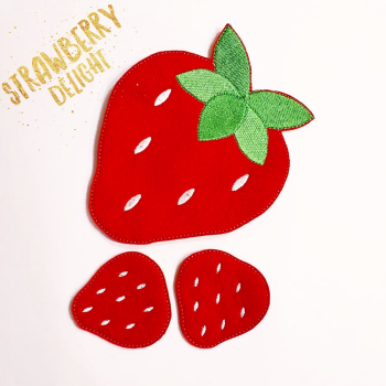 Create Your Own Strawberry Bow Holder