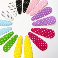 Polka Dot Clip Covers