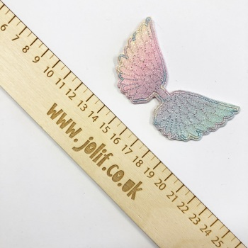 Rainbow Wings ~ Strip of 3