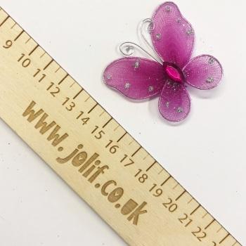 Pink Butterfly Gems