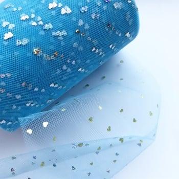 Blue Sweetheart Tulle