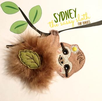 Sydney the Sassy Sloth Fur Babies