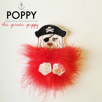 Poppy the Pirate Puppy Fur Babies