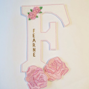 Create Your Own Personalised Initial Bow Holder