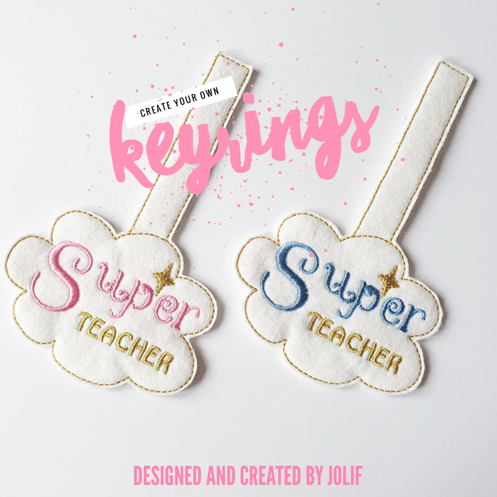 Create Your Own Keyrings