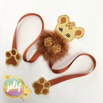 Little Cub Fur Baby Create Your Own Bow Holder