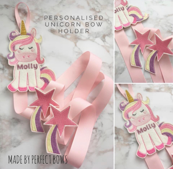 Create Your Own Unicorn Bow Holder