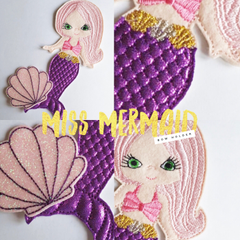 Miss Mermaid Create Your Own Bow Holder