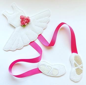 Create Your Own Ballet Girl Bow Holder