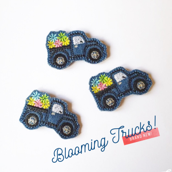 Blooming Truck Felties