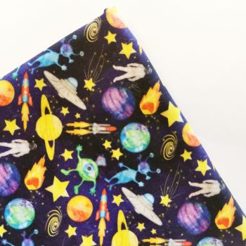 Out in Space Fabric Felt