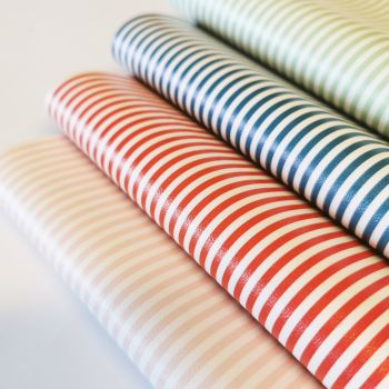 Candy Stripe Leatherette
