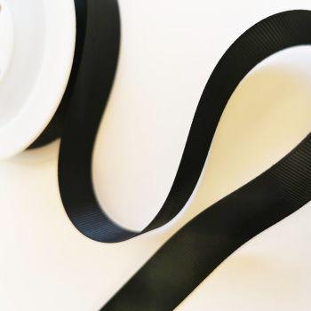 Ribbon Grosgrain - Black