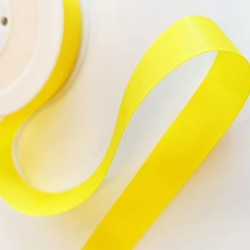 Ribbon Grosgrain - Yellow