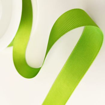Ribbon Grosgrain - Apple Green