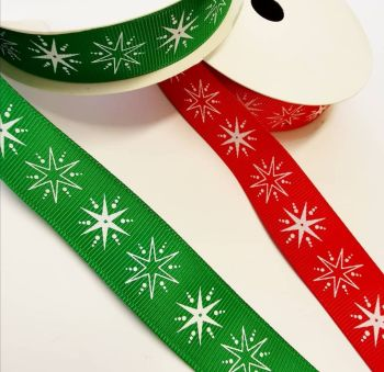 Christmas Star Grosgrain