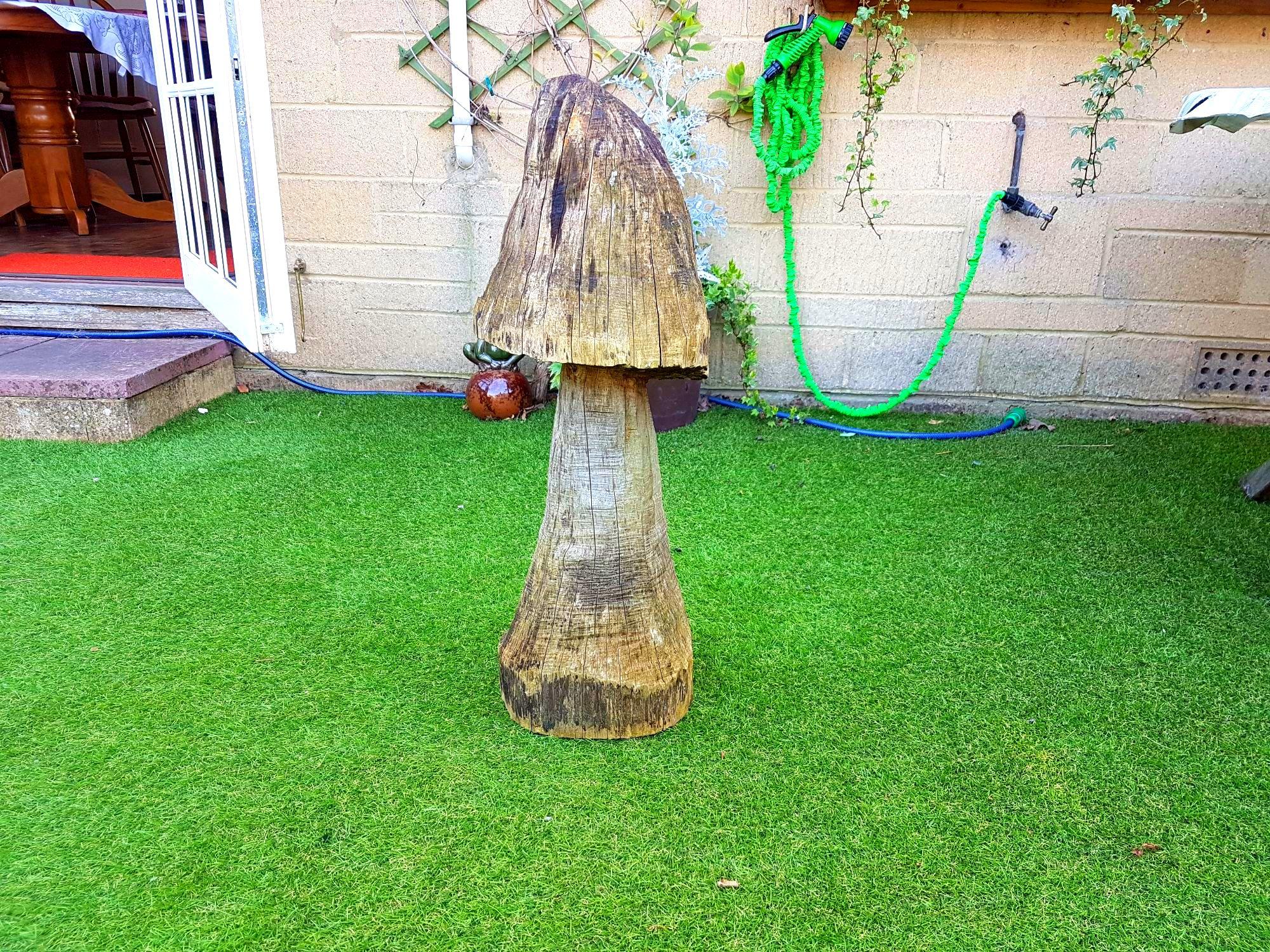 Chainsaw mushroom