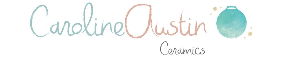 Caroline Austin Ceramics , site logo.