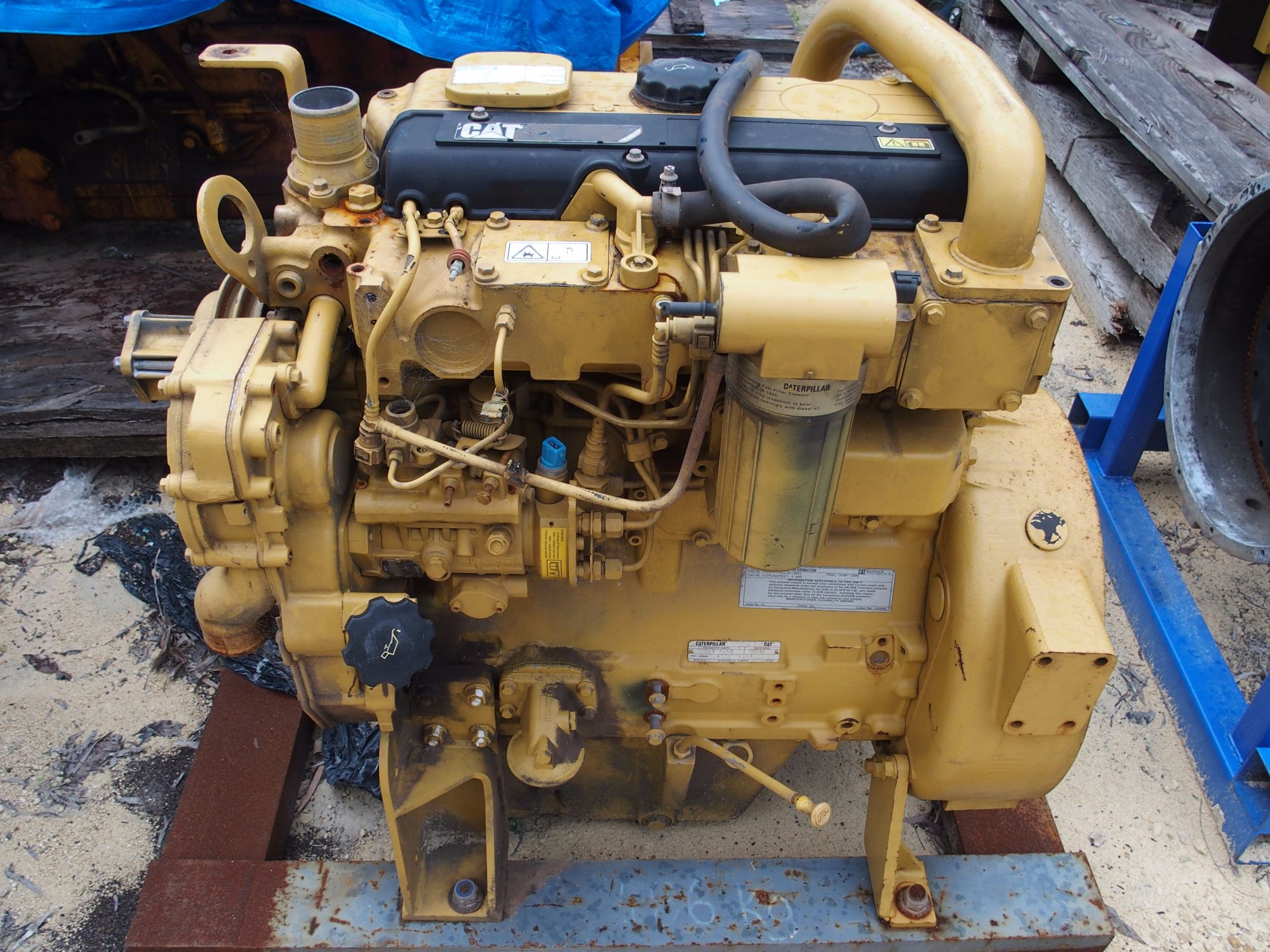 CAT 3054 4.4 L Core Engine 1