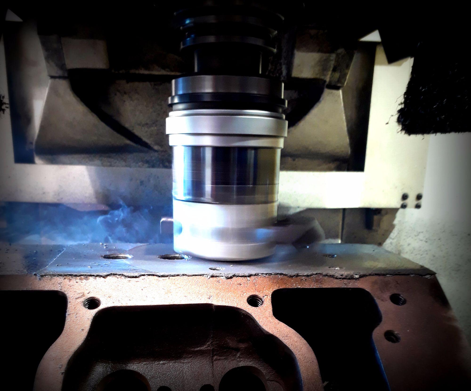 Engine Metal Spraying Repairs on Caterpillar and Cummins Engines 7