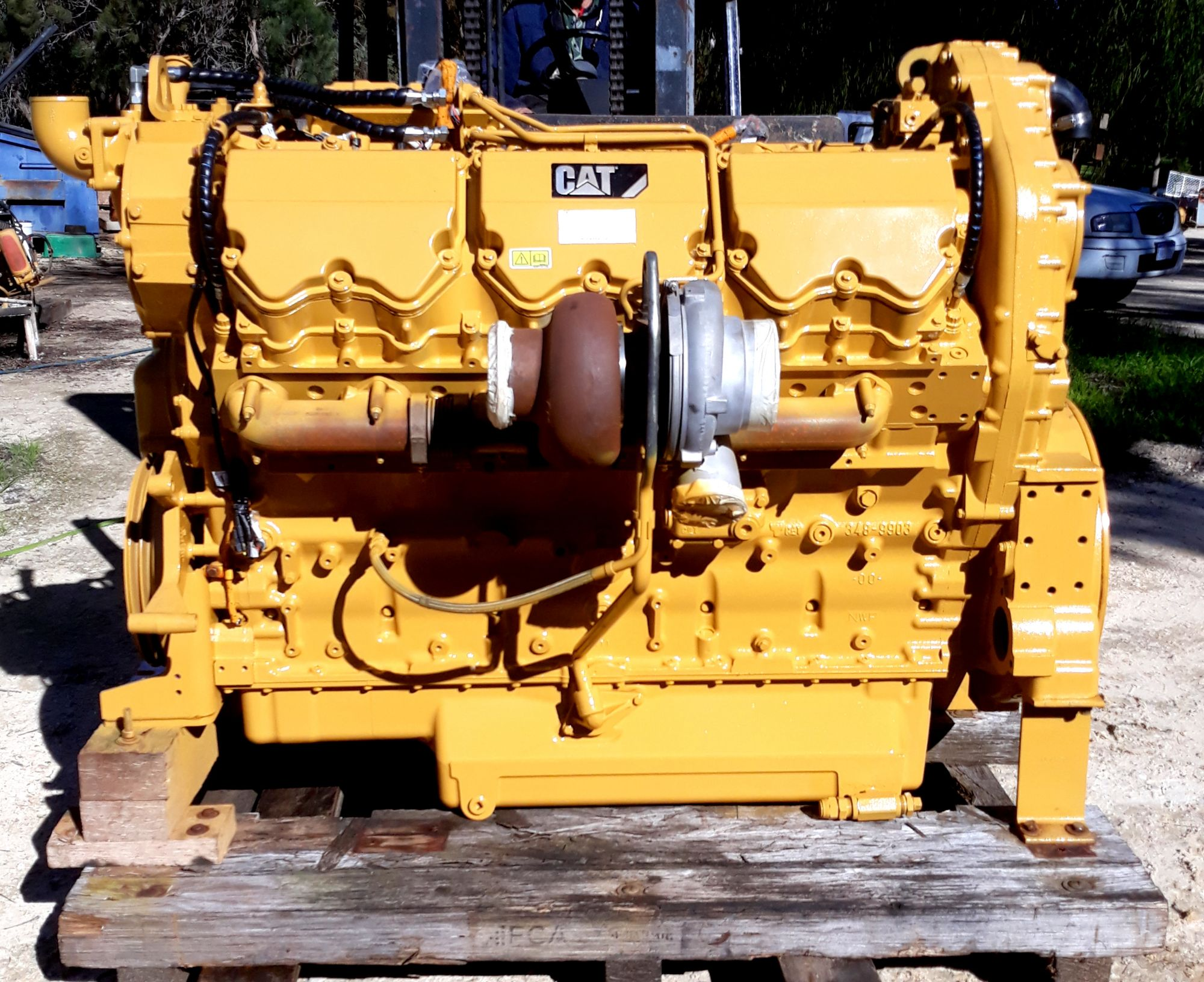 CAT C27 Engine Repairs Australia