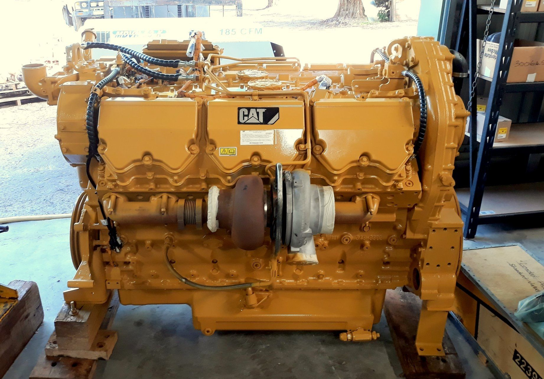 Caterpillar C27 Engine Reconditioning and Remanufacturing Australia
